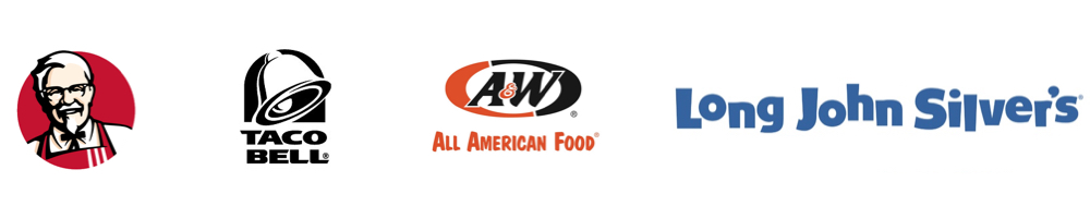 KFC, Taco Bell, A&W, Long John Silver's - South Bay